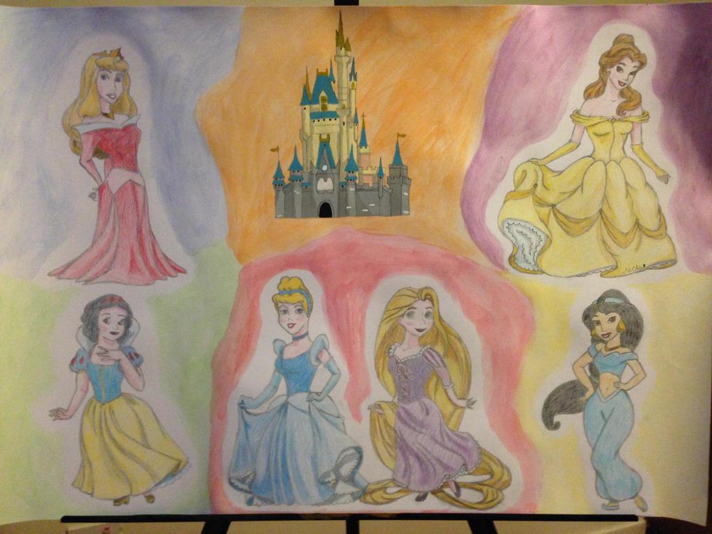 Disney Princess Castle...