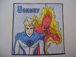 Johnny storm by supernaturalsarah