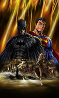Superman/Batman Michael Turner by RasiumLane