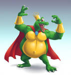 Newcomer King K. Rool