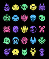 Mask Collector [T-Shirt] by Versiris