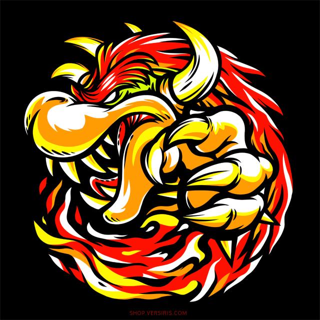 Tyrant Koopa [T-shirt] by Versiris