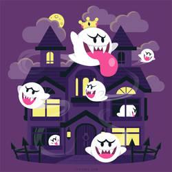 Ghost House [T-Shirt] by Versiris