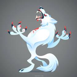 Arctic Werewolf by Versiris