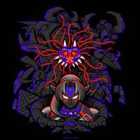 Masked Evil [T-shirt] by Versiris