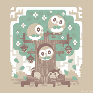 Wood Owl Woods [T-Shirt]
