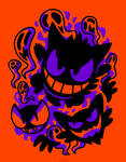Ghastly Haunting Ghouls (T-Shirt)