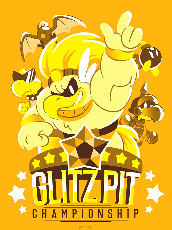 GLITZ PIT (T-Shirt) by Versiris