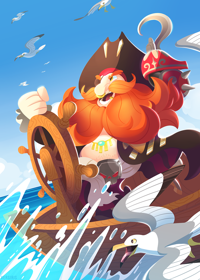 Torbjorn Ready to Sail! by Versiris