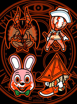 Silent Hill Charms