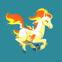 PKMN - Ponyta by Versiris