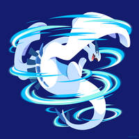 PKMN - Lugia by Versiris