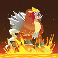 PKMN - Entei by Versiris