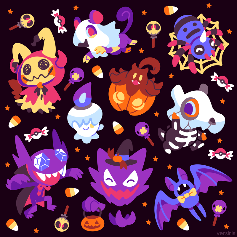 Trick-or-Treat Poke'ween by Versiris
