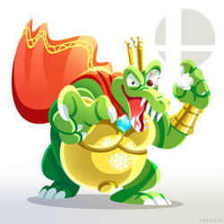 Smash Ultimate - K. Rool by Versiris