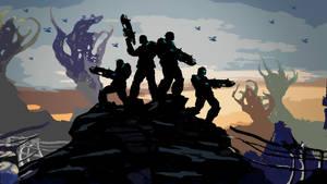 Gears of War 3 Wallpaper 3