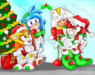 Merry Christmas! by PixelatedFurryPanda