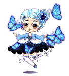 OC: Isabell and butterflies
