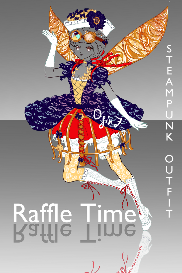 [OPEN] Birthday Raffle: Detailed Steampunk Outfit by OginZ