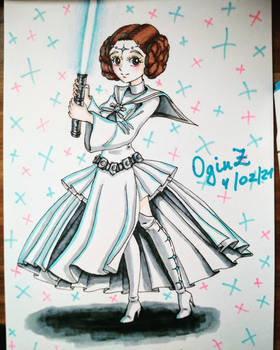 Sailor Princess Leia