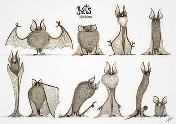 BATS SKETCHES