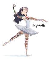 BALLET DANCER by GrievousGeneral