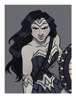 WONDER WOMAN DC by GrievousGeneral