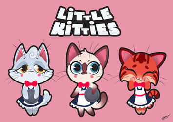 LITTLE KITTIES by GrievousGeneral