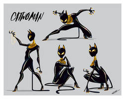 CATWOMAN EGYPTIAN SUIT