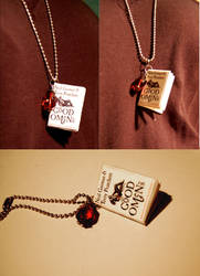 Good Omens Necklace by redbird7