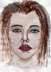 Self potrait by jamina-0