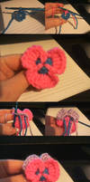 Super Simple Free Crochet Pansy Pattern~!