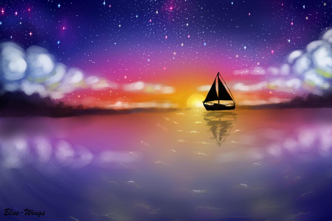 SailBoat by May-BlueWings