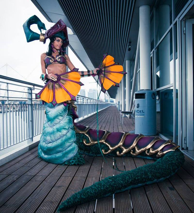 Jade Fang Cassiopeia_League of Legends by ladymisterya