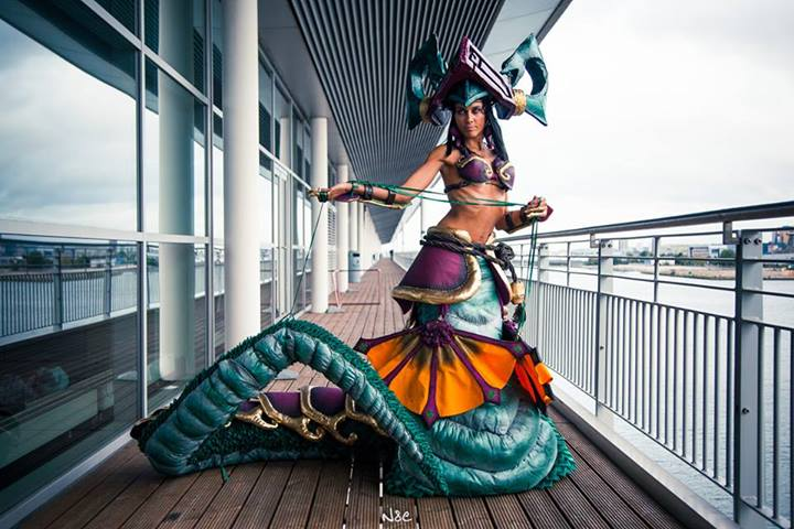 Jade Fang Cassiopeia from League of Legends by ladymisterya