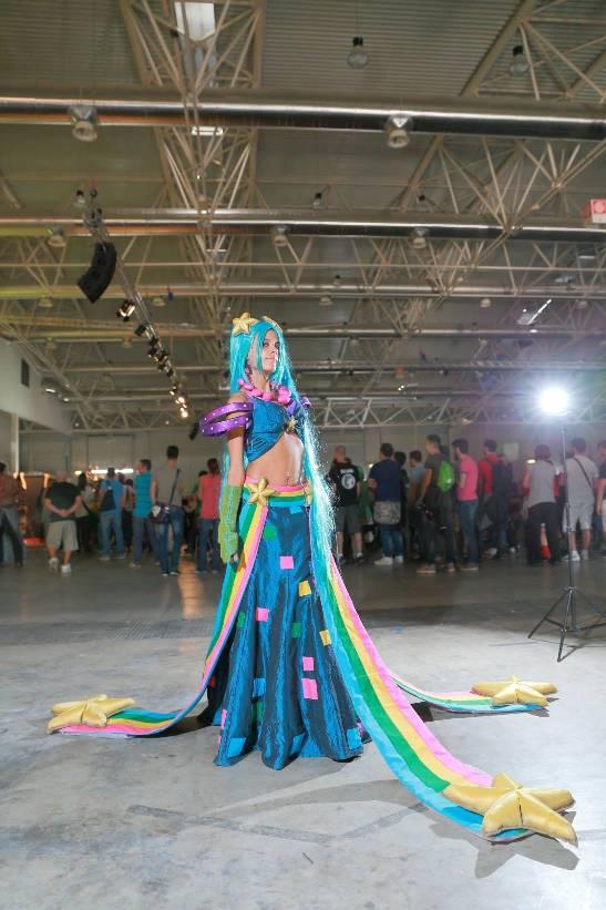 Arcade Sona_FSP fotografia_Romics2014 by ladymisterya