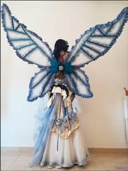 Fairy alternative wedding dress by ladymisterya