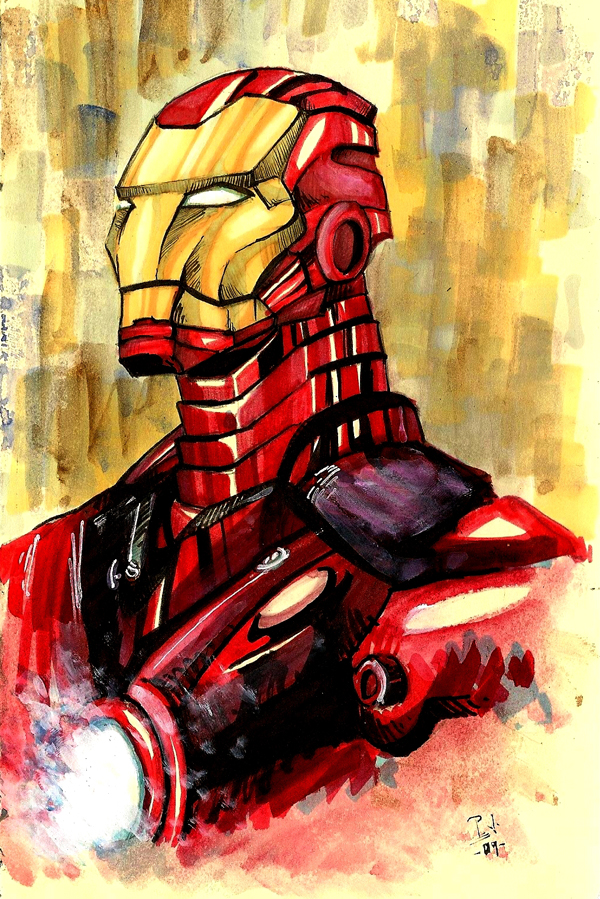 Iron Man by Py3rr