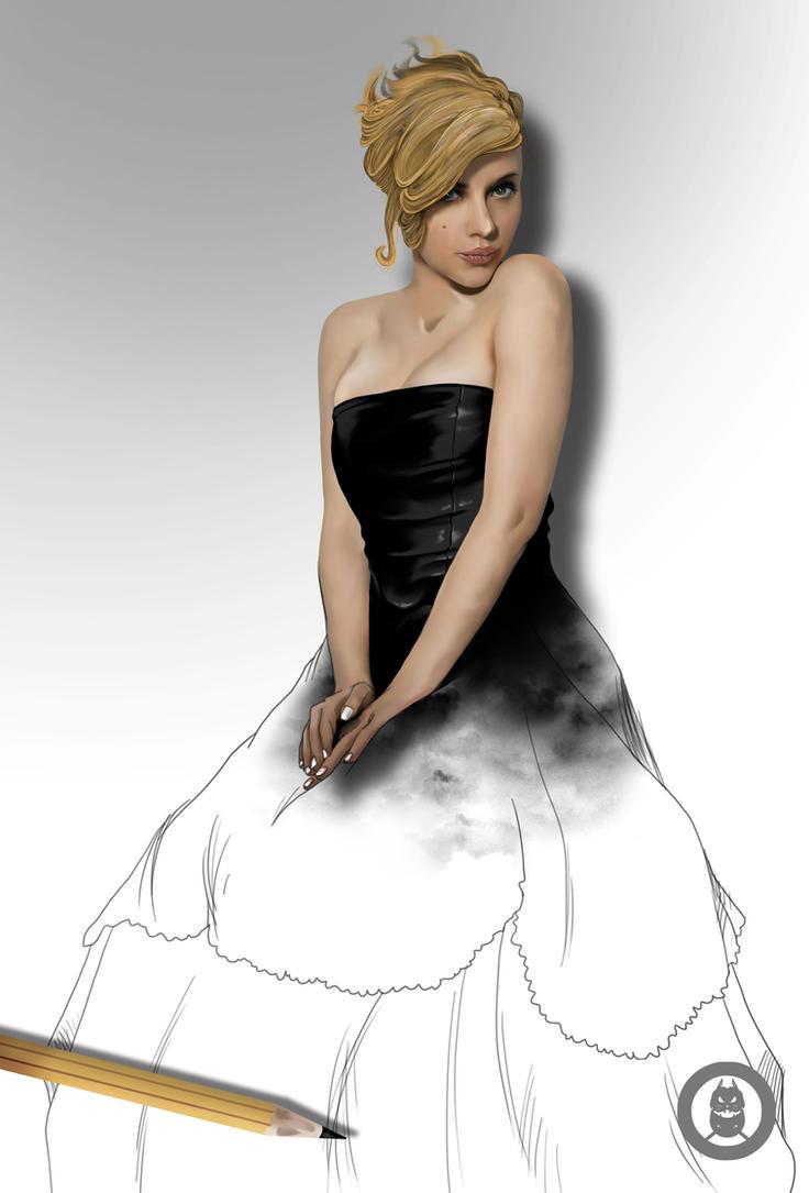 Scarlett Johansson by Py3rr