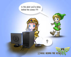 Hyrule Behind The Scenes by Py3rr