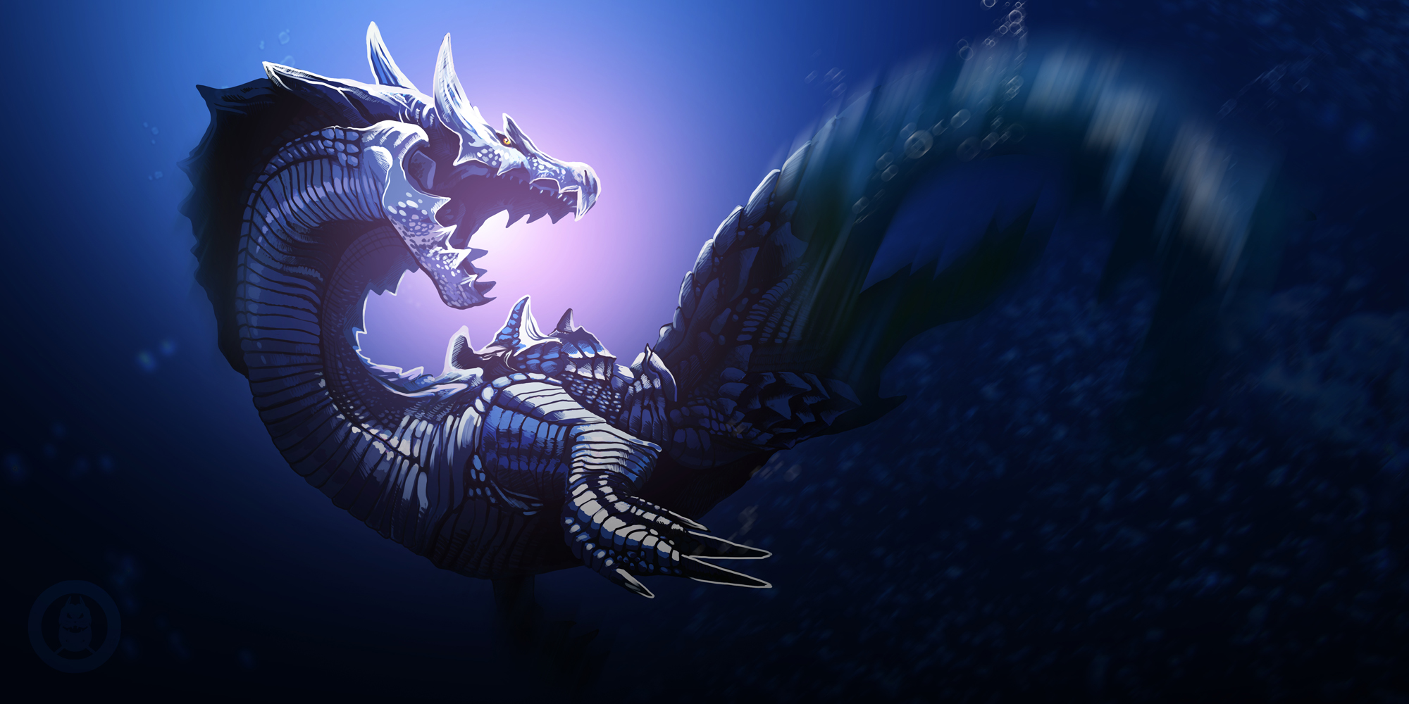 lagiacrus by py3rr on deviantart