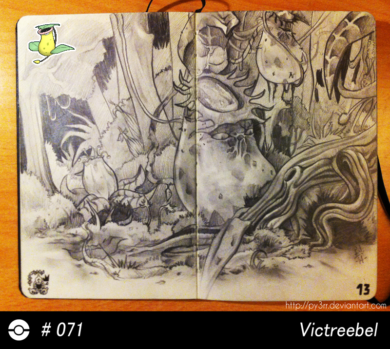071 - Victreebel by Py3rr