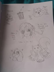 Sketch Dump 2 by PeriOwl