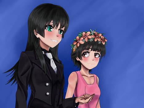 Saten and Uiharu