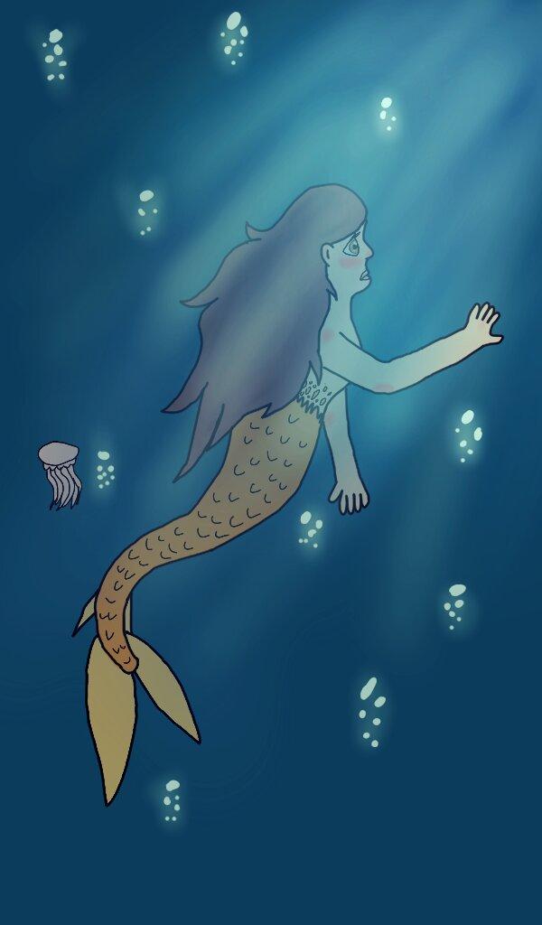 Mermaid by AlphaLordCalypso