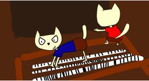 Cats piano