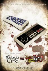 AVGN vs NC Poster by NewRandombell