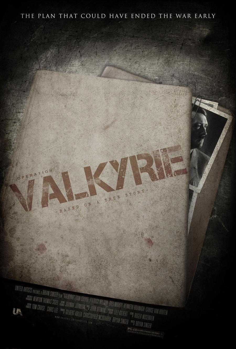 Valkyrie - Movie Poster by NewRandombell