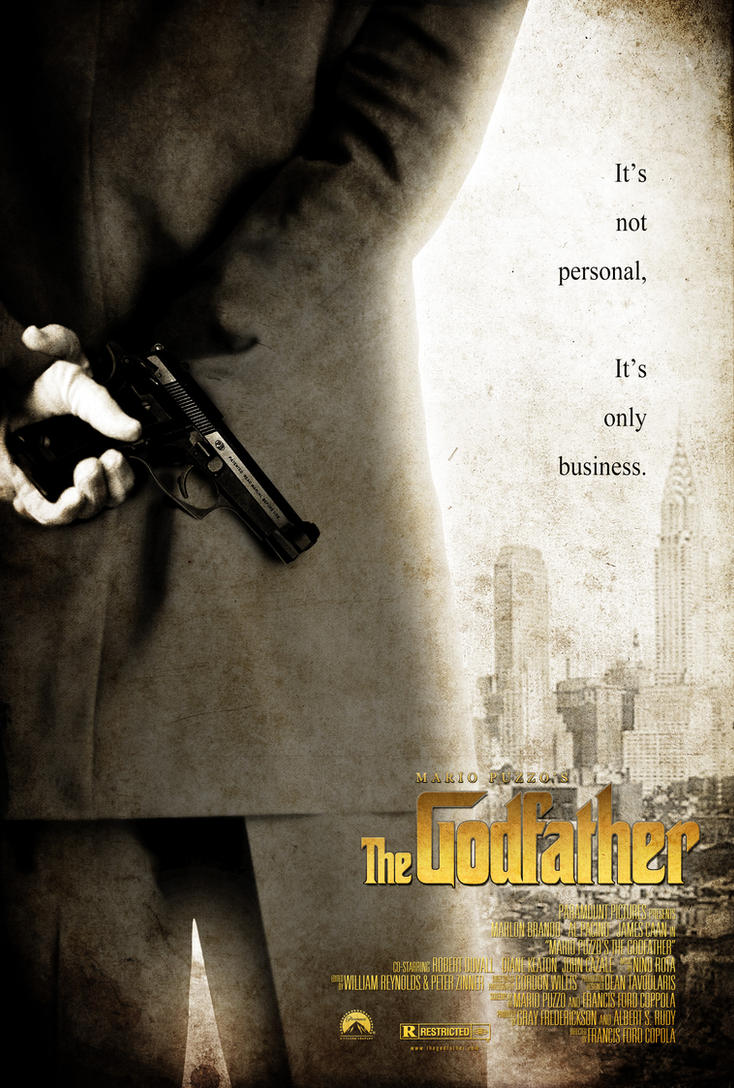 """The Godfather"" Movie Poster by NewRandombell"