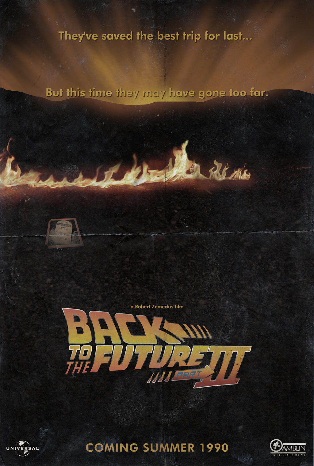 Back To The Future Part 3 Poster | www.pixshark.com ...